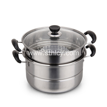 304 Multi function Stainless Steel Food Steamer Pot